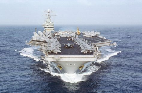 US NAVY USS DWIGHT D. EISENHOWER