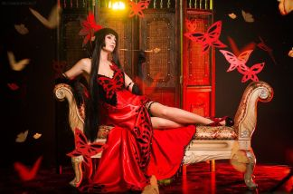 yuuko cosplay Bellatrix Aiden