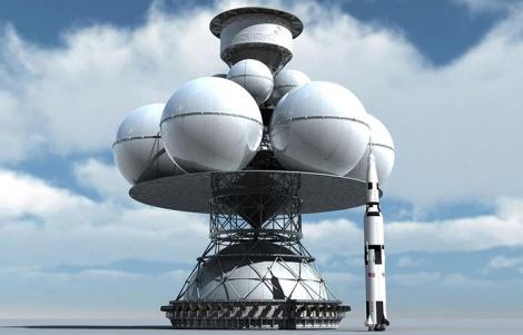 Daedalus comparado ao foguete Saturn V que levou os Homens à Lua