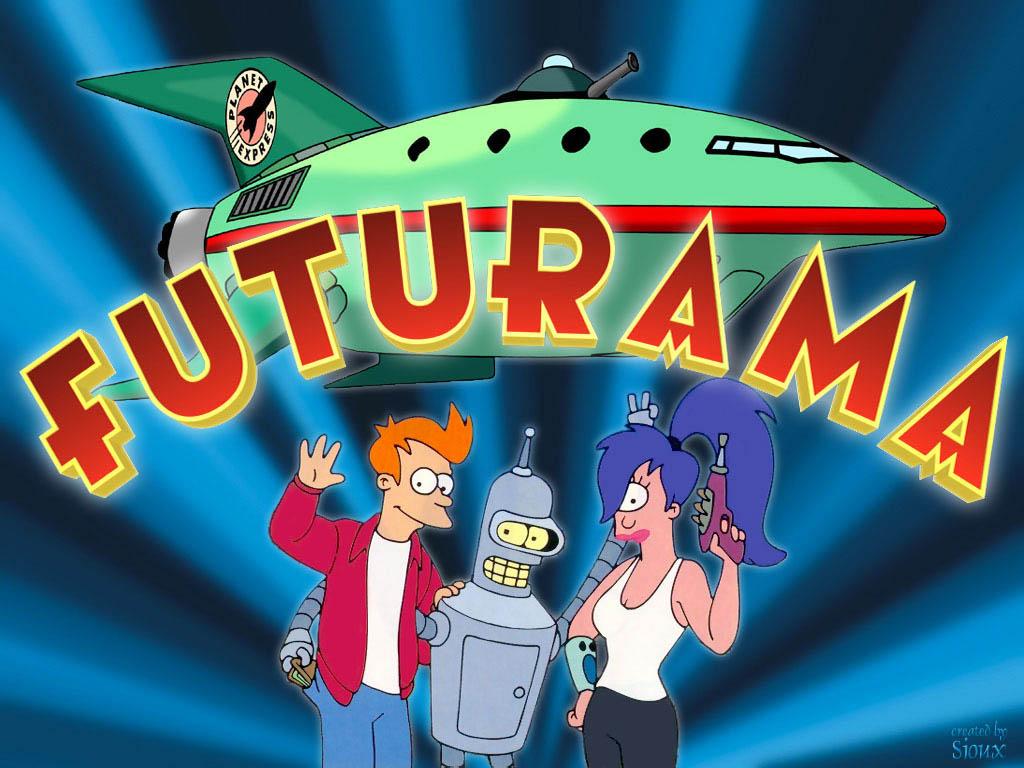 """As Naves de Futurama também funcionavam com motor parecido com o """"motor de dobra"""""""
