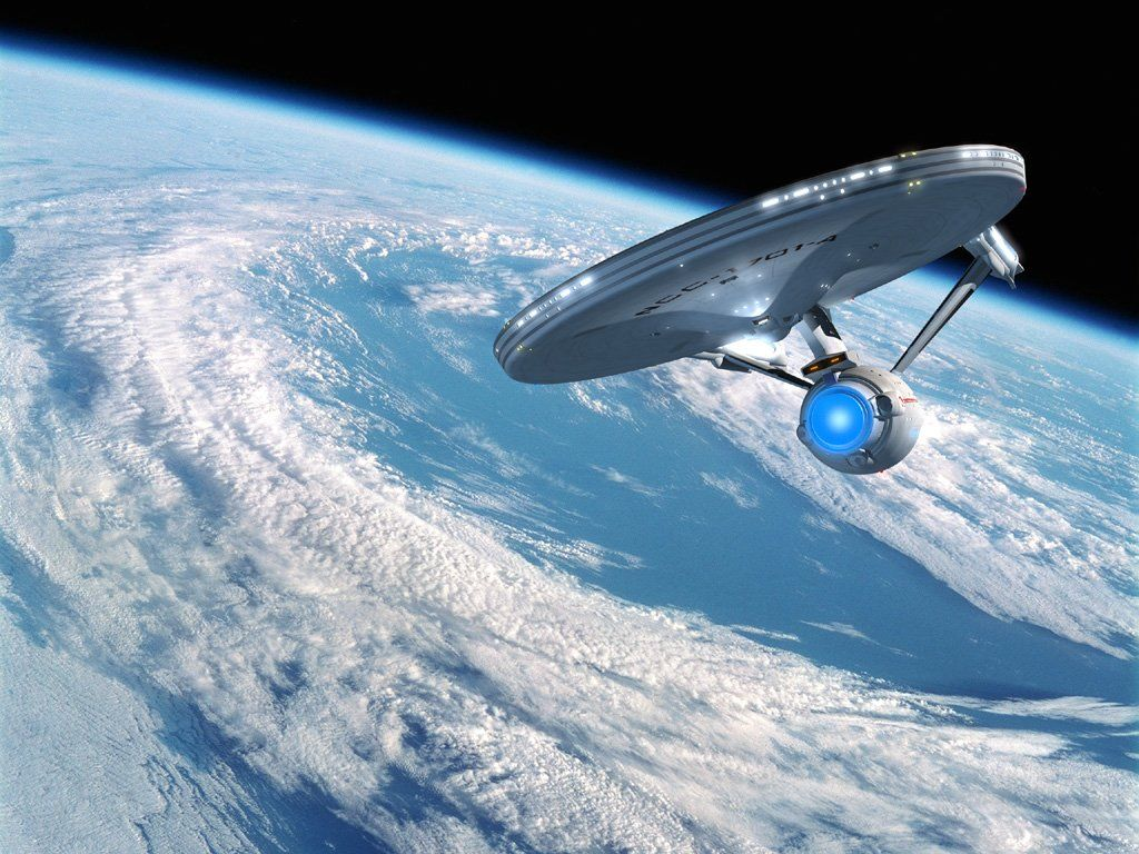 "Enterprise e a ""Dobra Espacial"""
