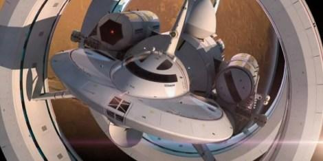 Propulsão Alcubierre (dobra espacial) Enterprise