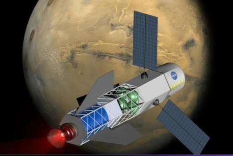 The Fusion Drive Rocket (foquete de fusão) 2