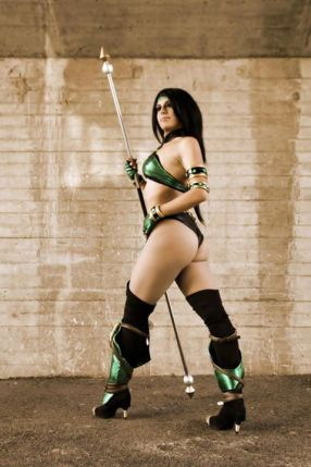 Cosplay Jade sexy legs big butt Michela Cosplay gostosa bundão (1)