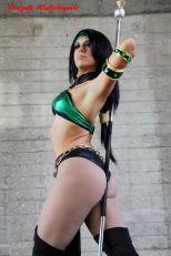 Cosplay Jade sexy legs big butt Michela Cosplay gostosa bundão (2)