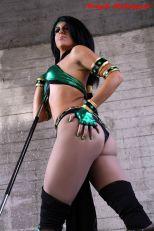 Cosplay Jade sexy legs big butt Michela Cosplay gostosa bundão (3)