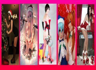 cosplay mamae noel sexy gatas wall