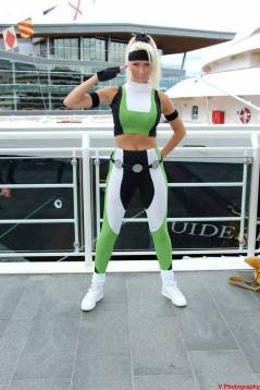 Dayna Baby Lou cosplay Sonya Blade sexy