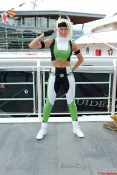 Dayna Baby Lou cosplay Sonya Blade sexy