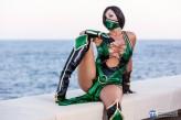 Giorgia cosplay Jade sexy gostosa