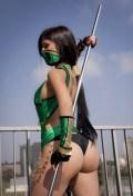 jade cosplay mortal kombat sexy bundão gostosa