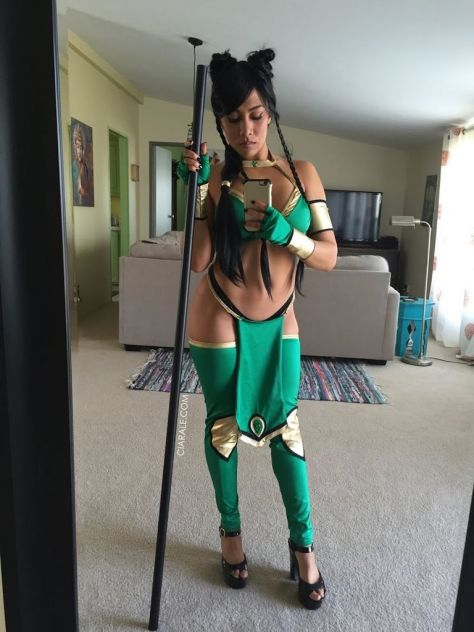 Jade cosplay sexy big butt Ciara Le bundão gostosa