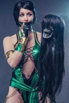 Jade cosplay sexy Dahlia Thomas (2)