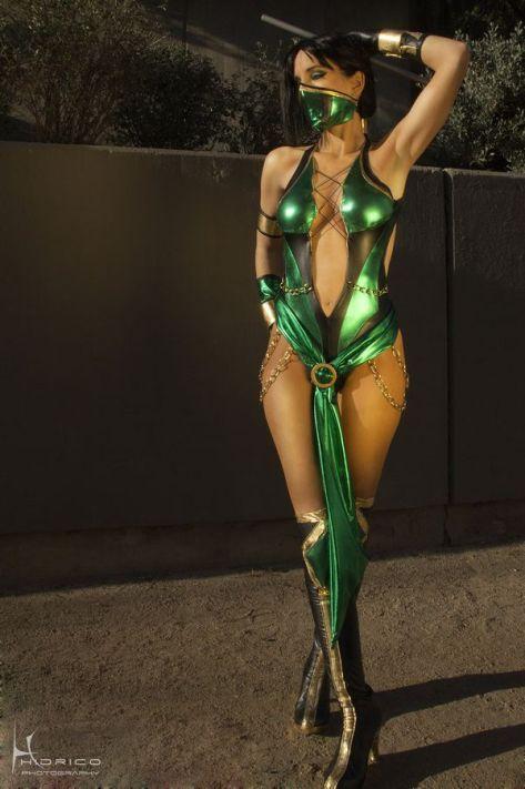 Jade cosplay sexy DawnArts Hikari Kat