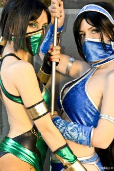 Jade cosplay sexy DawnArts Hikari Kat Kitana cosplay Yurai