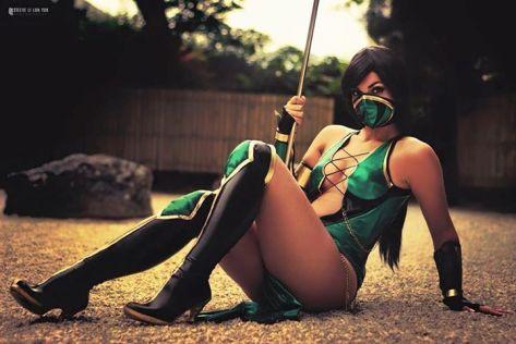 Jade cosplay sexy Nuna Cosplay gostosa