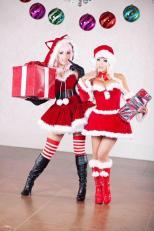 mamãe noel sexy Urd cosplay Oh! My Goddess yaya han sexy gostosa jessica nigri cosplay super sonico