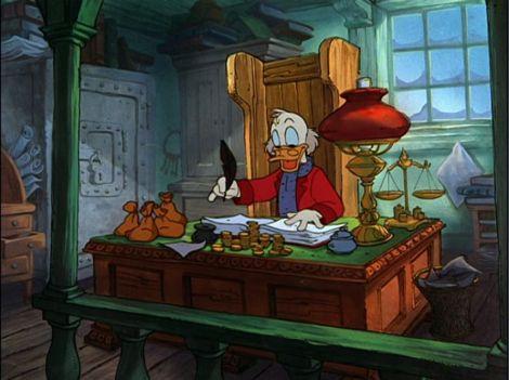 Mickey's Christmas Carol tio patinhas 2