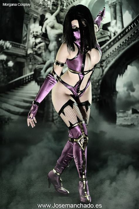 Mileena Cosplay gostosa Morgana sexy body