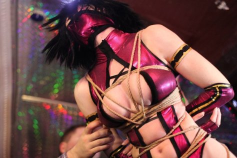 Mileena cosplay sexy AsherWarr big tits