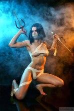 Mileena cosplay sexy AsherWarr big tits nude