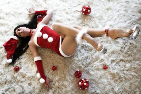 pin up sexy mamãe noel xmas giorgiacosplay