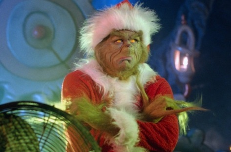 Pensem no recado... o Grinch aprendeu no fim do filme