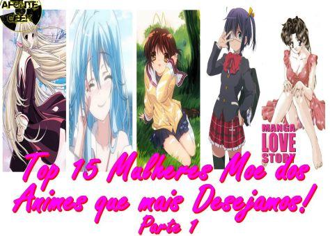 Top 15 Mulheres Moe dos Animes que mais Desejamos! Parte 1