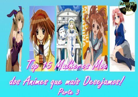 Top 15 Mulheres Moe dos Animes que mais Desejamos! Parte 3