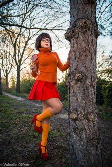 Cosplay Velma sexy Ekidna Costumes