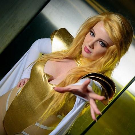 emma frost cosplay Elena Blueskies Cosplay