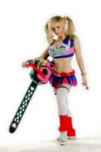 Lollipop Chainsaw cosplay Luna Lanie sexy gostosa