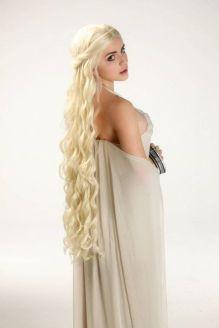 Luna Lanie Cosplay Daenerys Targaryen sexy gostosa GOT