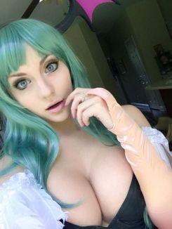 morrigan cosplay sexy Luna Lanie gostosa