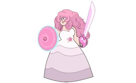 Rose Quartz a mãe general, linda e maravilhosa do Steven