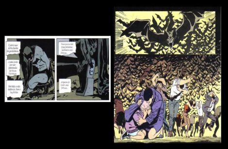 Uma das referências que Batman Begins fez A Batman: Ano Um