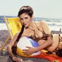 Carrie Fisher Slave Leia costume Rolling Stone 1983