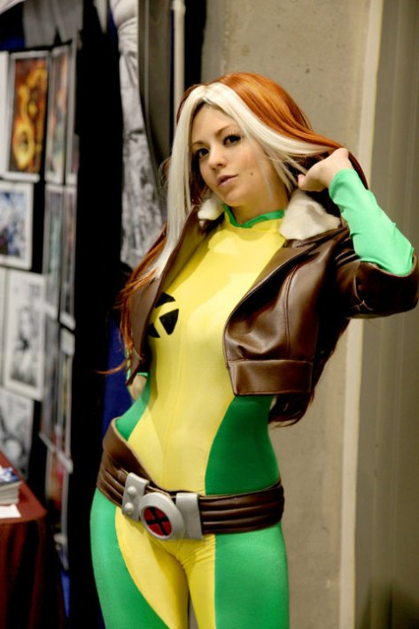 cosplay rogue sexy Peachykiki vampira cosplay gata (2)