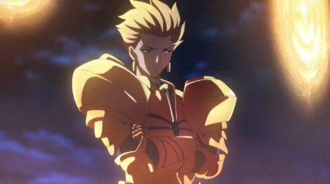 """A """"Epopeia de Gilgamesh"""" aqui como Gilgamesh do anime Fate/ Zero"""