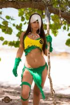 rogue cosplay bikini sexy Ekidna Costumes vampira cosplay bikini