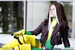rogue cosplay sexy thebird-thebee vampira cosplay