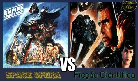 space opera vs ficção científica