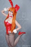 Adami Langley asuka cosplay bunny sexy gostosa