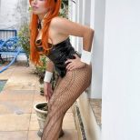 Cosplay Asuka Bunny Plu Moon coelhinha sexy ecchi