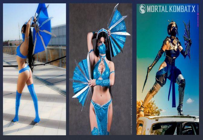 Kitana Cosplay – Especial: Gatas do Mortal Kombat