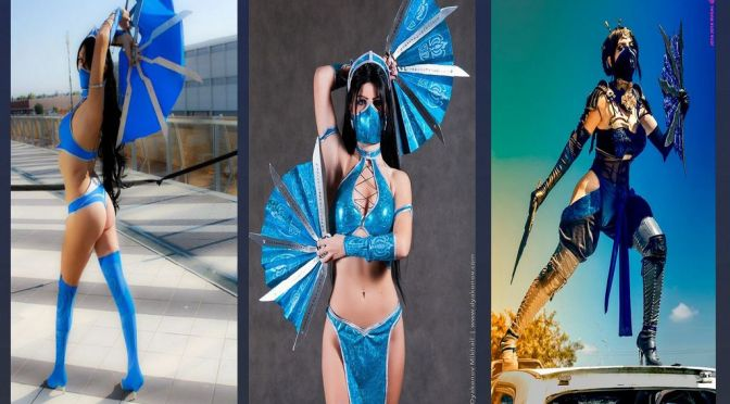 Kitana Cosplay – Especial: Gatas do Mortal Kombat