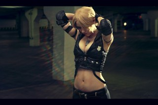Sonya blade cosplay sexy Gabardin gostosa