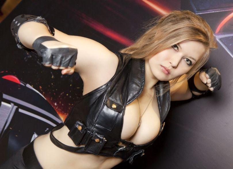 Sonya blade cosplay sexy Okani big tits (3)