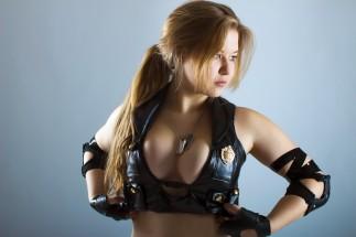 Sonya blade cosplay sexy Okani big tits