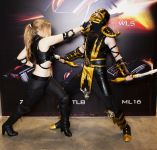 Sonya blade cosplay sexy with scorpion Okani big tits